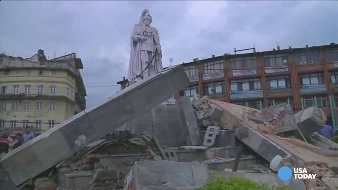 Nepal rocked by magnitude-7.8 earthquake
