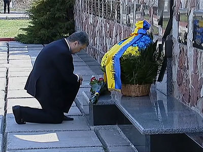 Hundreds mark anniversary of Chernobyl disaster