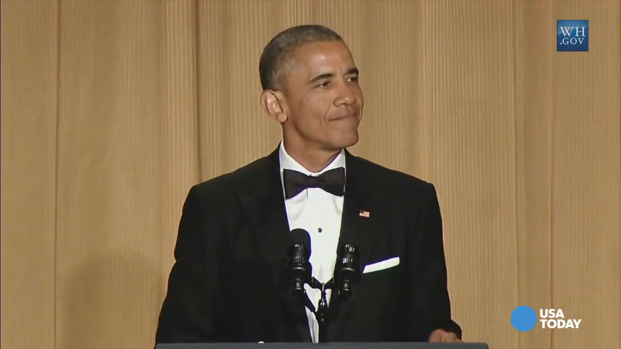 Obama plays up 'bucket' list at 'Nerd Prom'