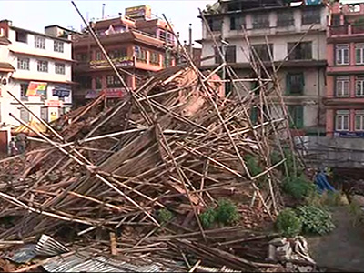 Raw: 3,300 Known Dead in Nepal