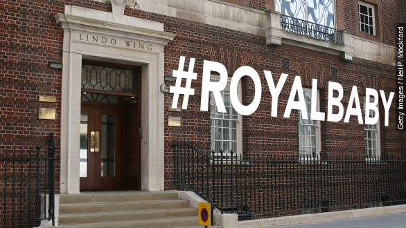 Royal baby birth to be delivered on Twitter