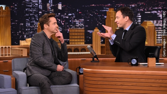 Robert Downey Jr. gives 'emotional' 'Tonight Show' interview