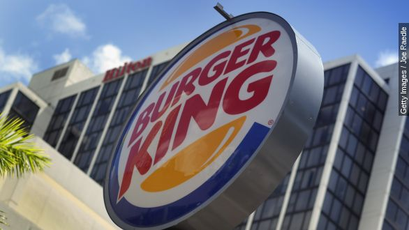 Burger King tastes success first quarter