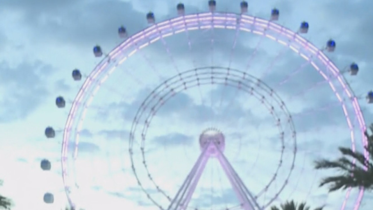 Nik Wallenda to walk on moving Orlando Eye wheel