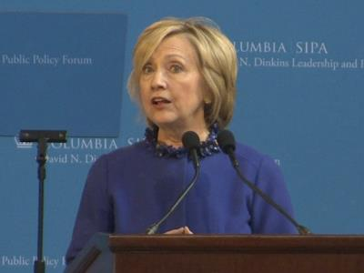 Clinton: Baltimore violence has to stop