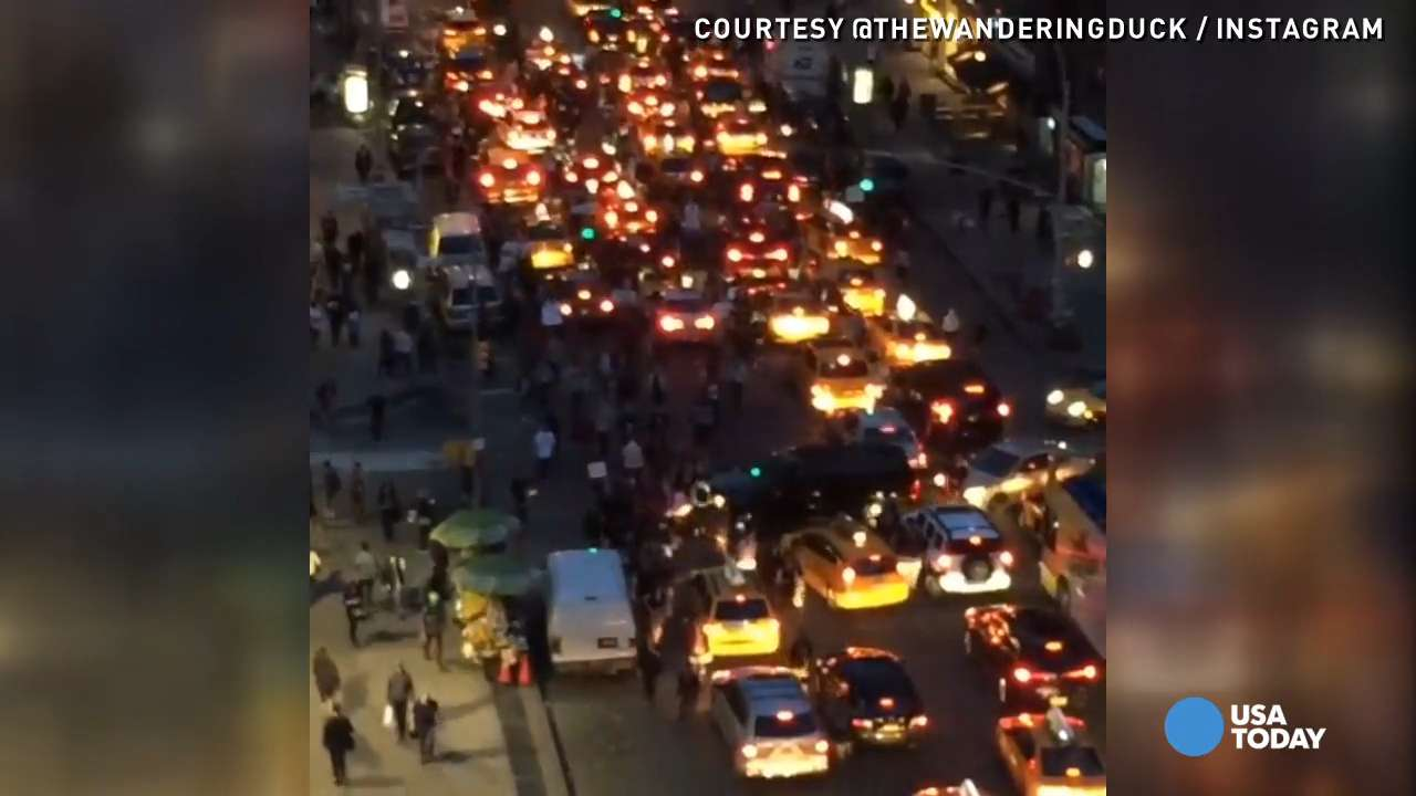 Watch massive crowd march in NYC to support Baltimore