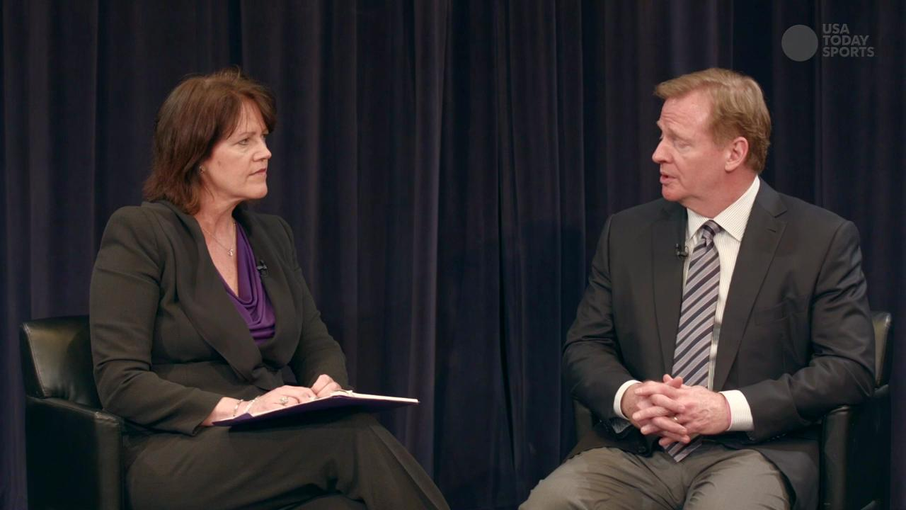 Roger Goodell: NFL can make difference in broader society