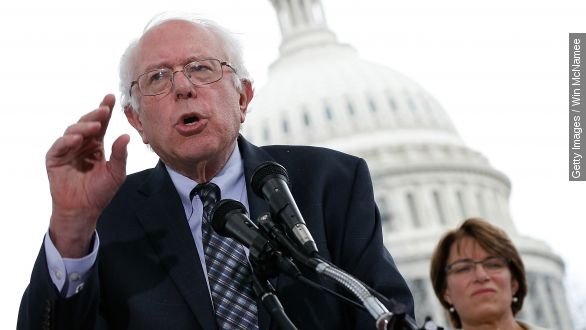 Sanders wants to be more than another Nader