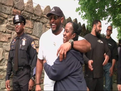 Ray Lewis: 'Stop talking about old Baltimore'
