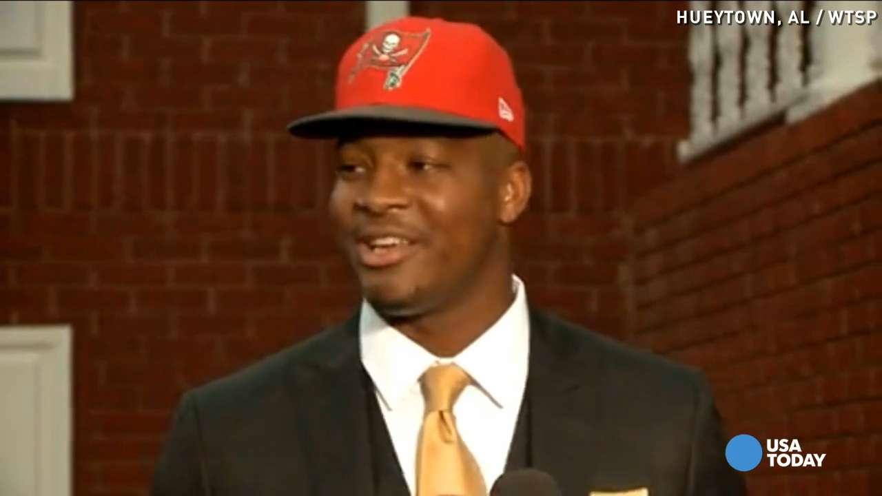 Jameis Winston selected by Bucs: 'I'm just blessed'