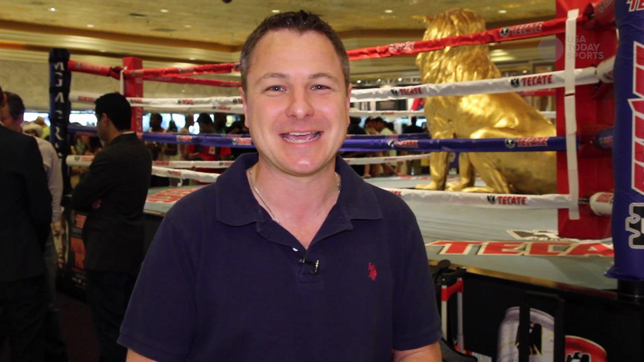 USA TODAY Sports' Martin Rogers reports on the Mayweather and Pacquiao camps from the MGM Grand in Las Vegas with just 48 hours until the big fight.