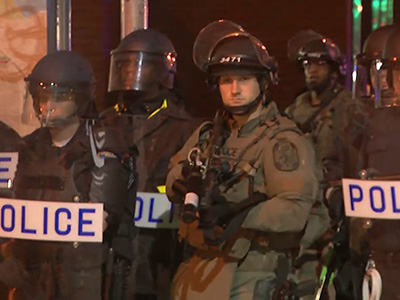 Raw: Baltimore curfew In place for third night