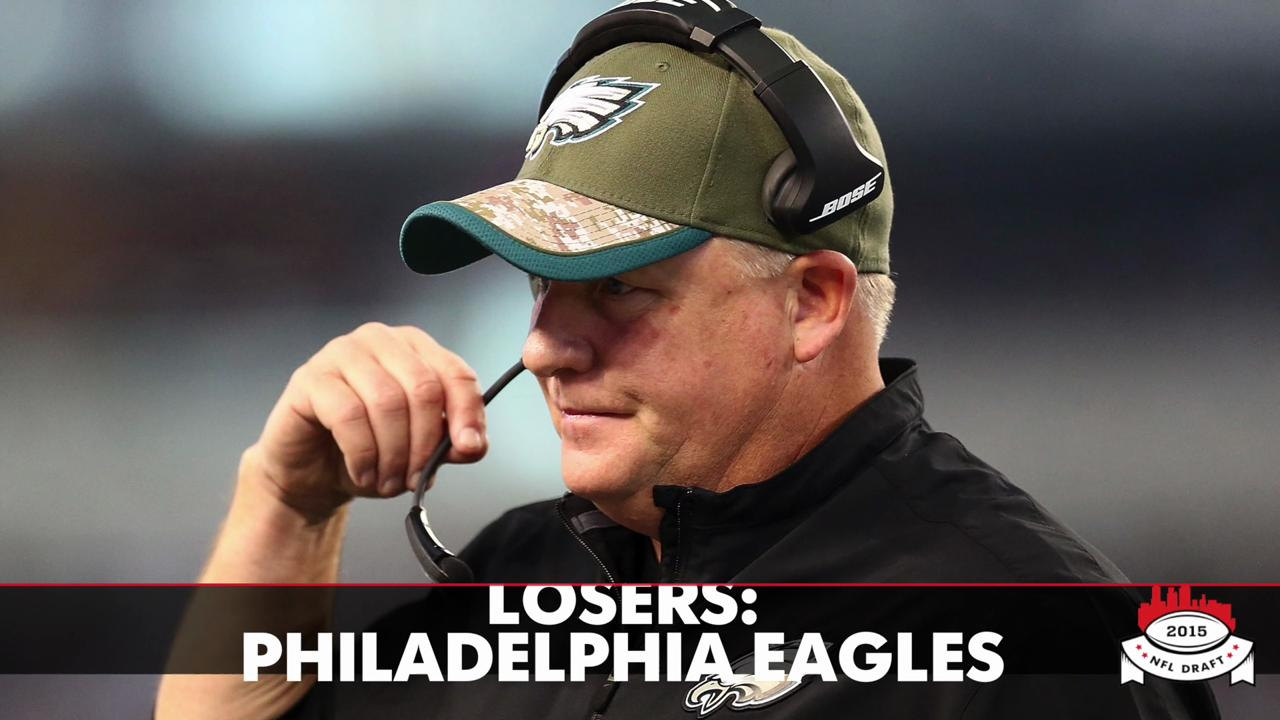 NFL draft first-round winners, losers: Chip Kelly falls flat