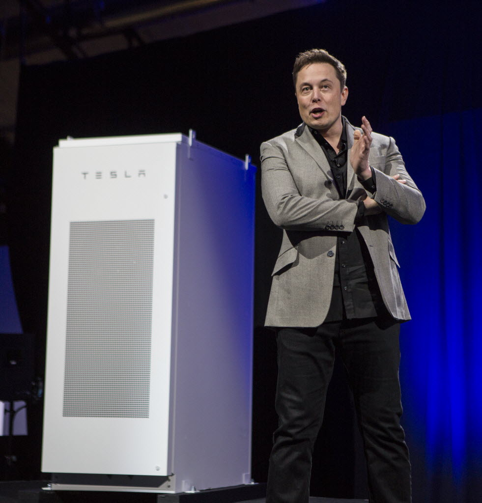 Elon Musk is selling battery packs for houses