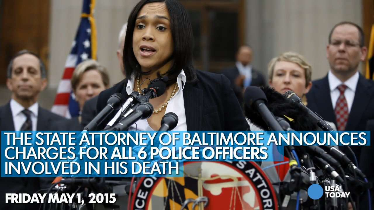 Freddie Gray: A timeline of the Baltimore uprising