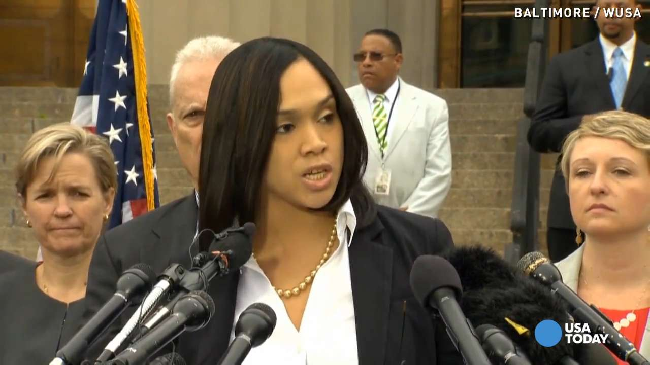 Prosecutor Marilyn Mosby praised by Baltimore residents