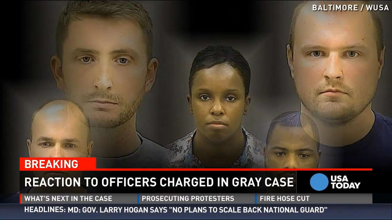 Officers charged in Gray's death released on bond
