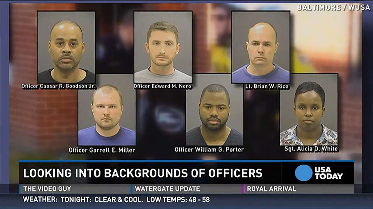 Meet the cops who are charged in death of Freddie Gray