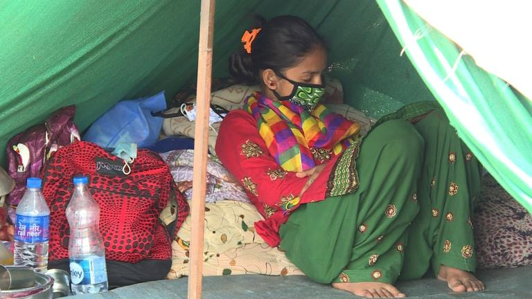 Disease fears hit Nepal's quake-hit homeless
