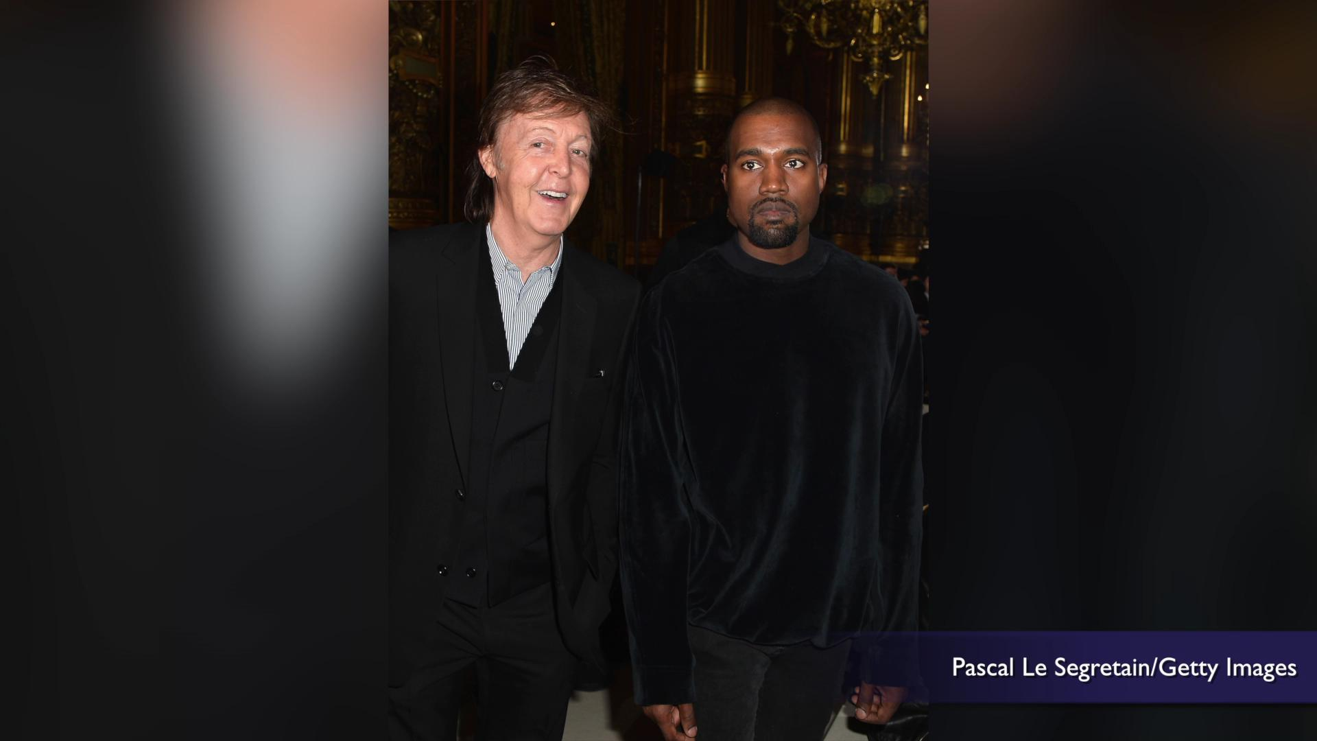 Paul McCartney says writing with Kanye West was like working with John Lennon