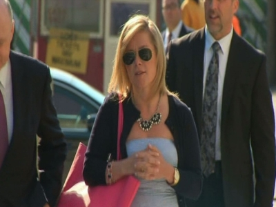 Raw: Former Christie ally Kelly arrives in court