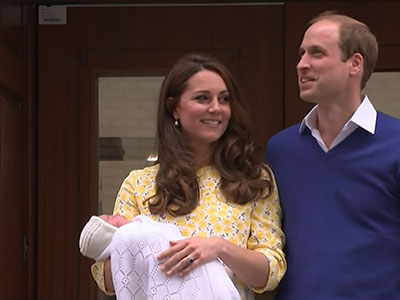 Bookies lose a fortune on royal baby's name