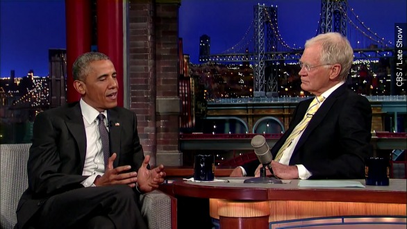 David letterman And president Obama talk retirement plans