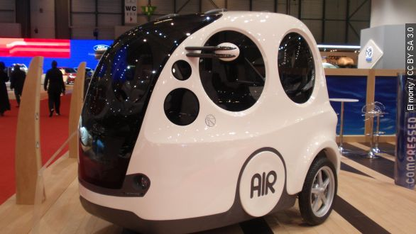 Air car company wants to sell 10k cars in us this year for Zero pollution motors shark tank