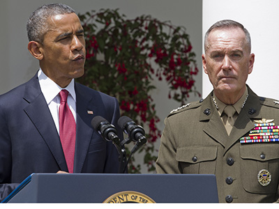 Obama choses Marine as Joint Chiefs chairman