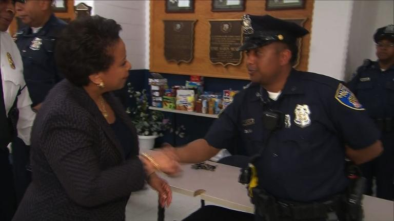 US attorney general visits crisis-hit Baltimore