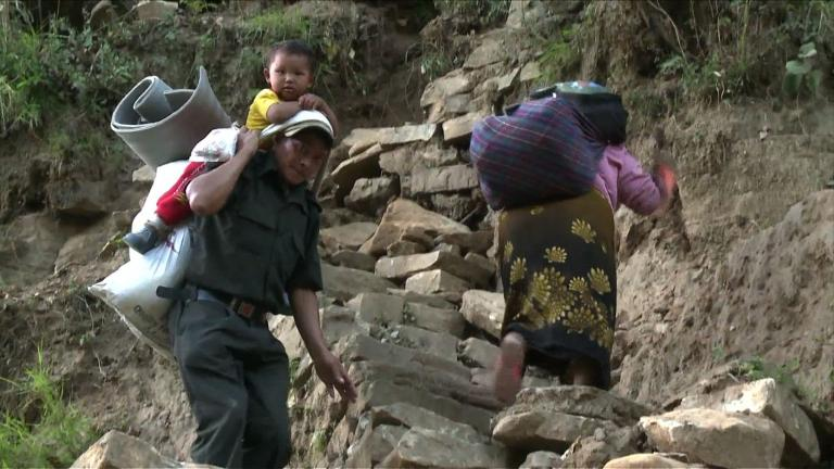 Remote Nepalese villages wait for help after quake