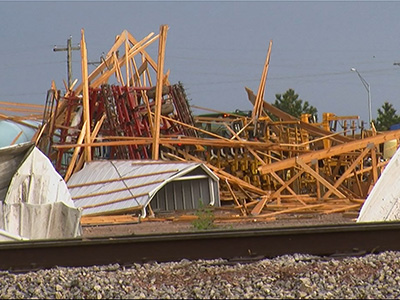 Tornadoes Hit Plains States