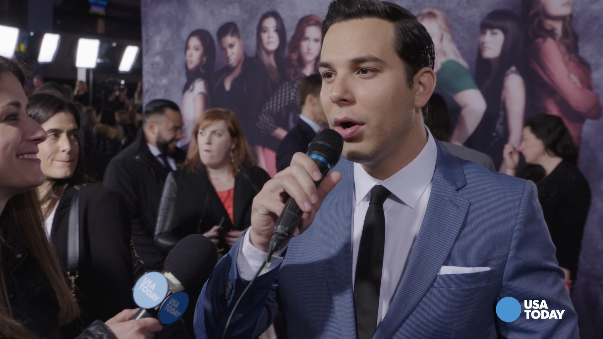 Pitch Perfect 2 premiere: The cast shows they can sing