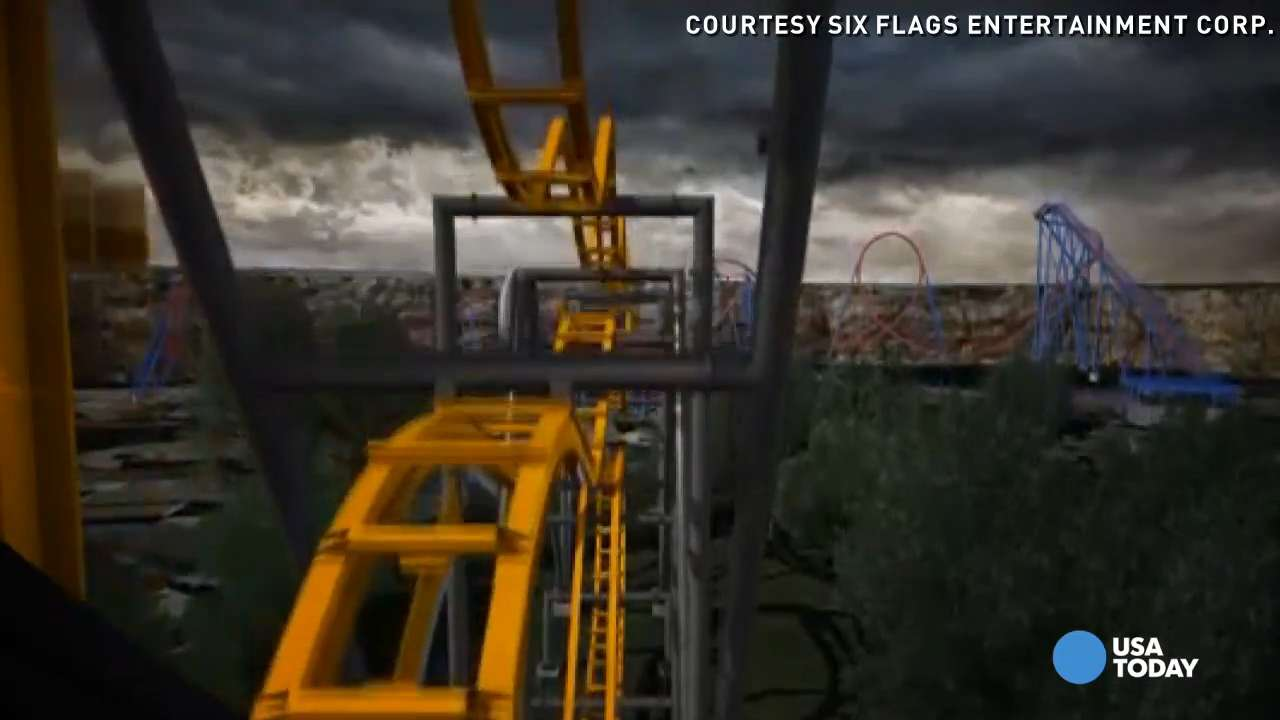 Batman: The Ride may be the most dizzying coaster ever