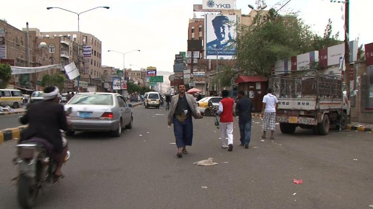 Sanaa residents react to beginning of a 5-day ceasefire