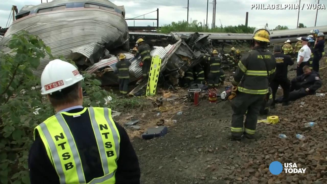 Amtrak train crash rider: Felt like it 'lifted off'