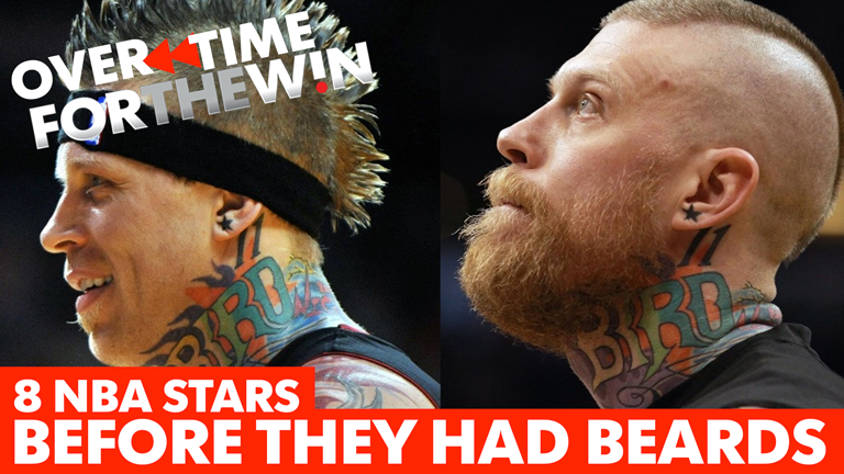 8 NBA stars before they had beards