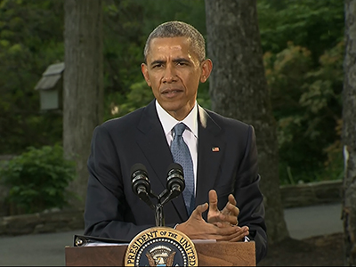 "Obama offers ""ironclad"" security cooperation"