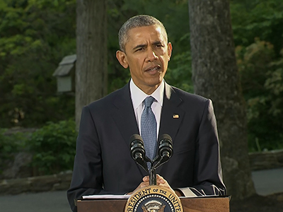 Obama offers condolences to victims' families