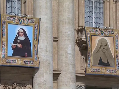 Pope canonizes nuns from 19th century Palestine
