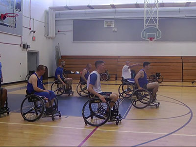 Wounded vets find new mission through sports
