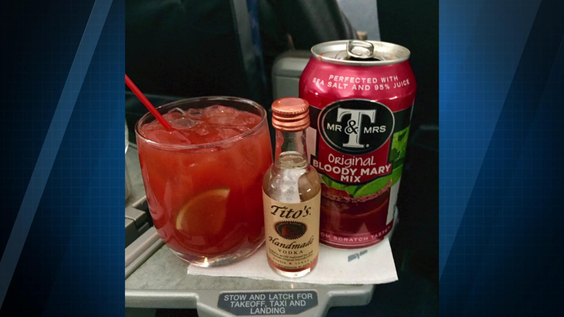 Science says certain foods and drinks like tomato juice taste better up in the air because of loud airplane noise. Sean Dowling (@seandowlingtv) explains.