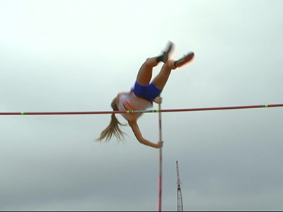 Blind High School Pole Vaulter Soars in Texas