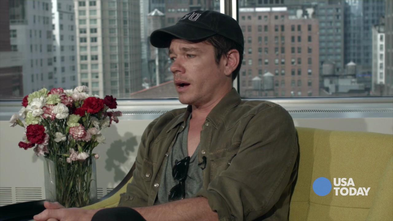Nate Ruess, lead singer for the indie pop band fun ...