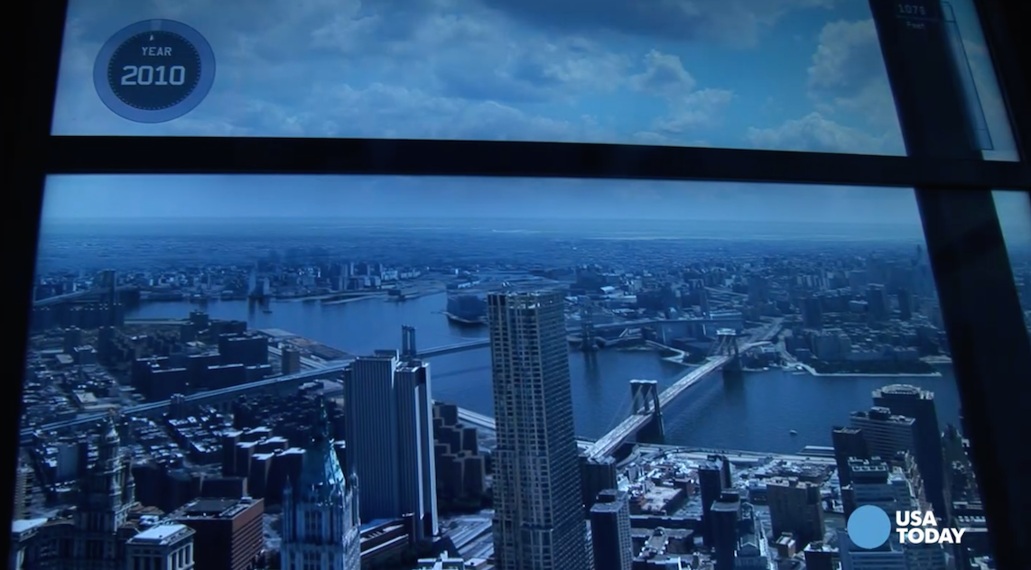 View the new One World Trade Center Observatory in 60 seconds