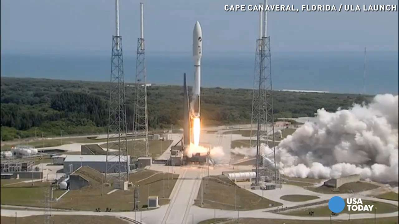 Atlas V rocket launches with secretive Air Force space plane