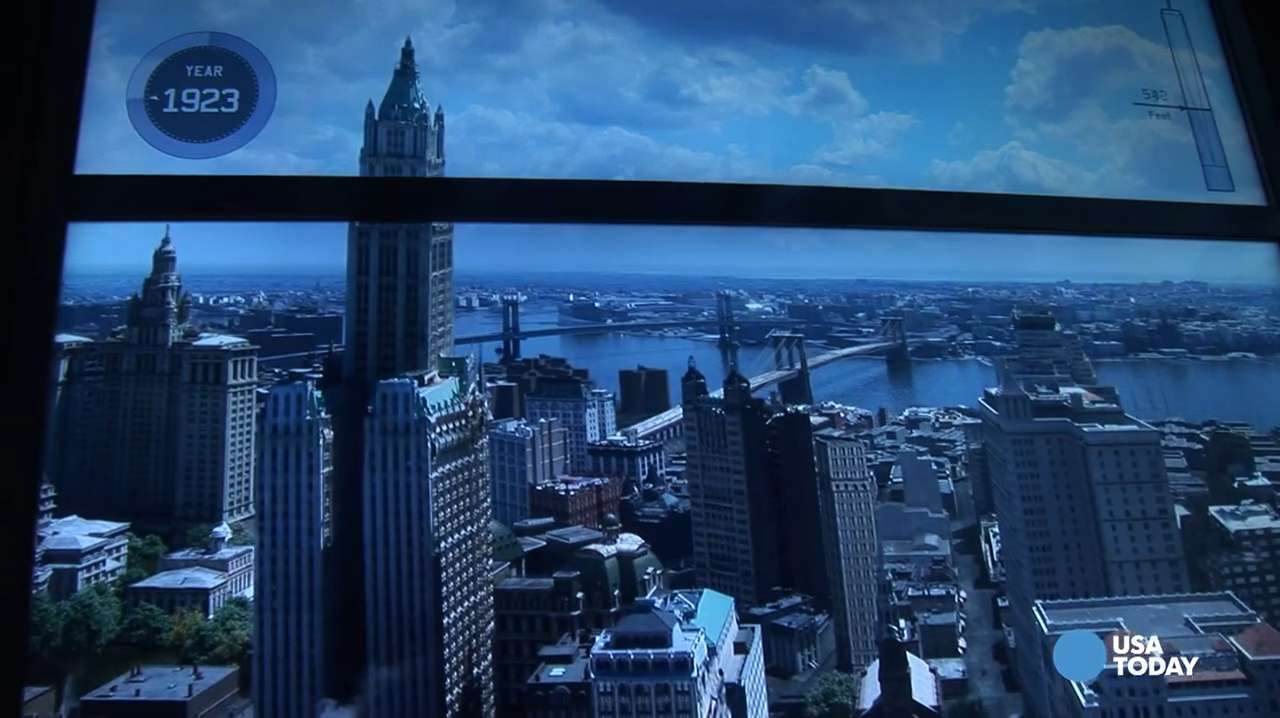 A sneak peek at the new One World Trade Center Observatory