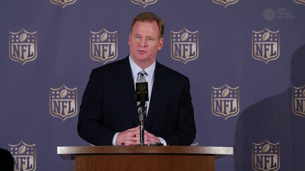 Roger Goodell addresses Tom Brady's appeal process