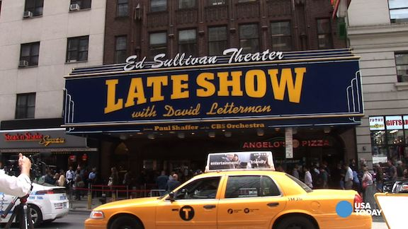 In line for Letterman:  Fans' favorite memories