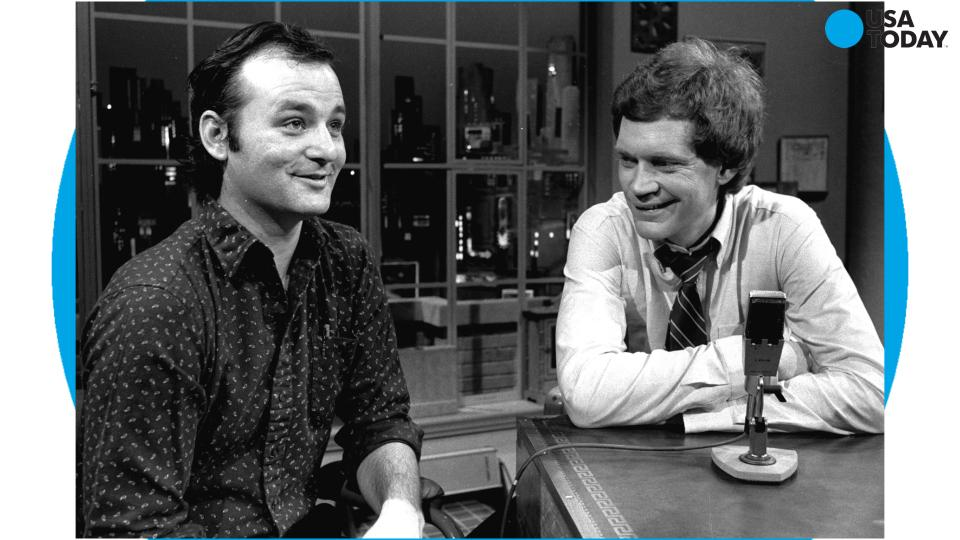 The Beginning of Bill Murray and David Letterman's Bromance